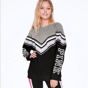 VS PINK varsity sweatshirt